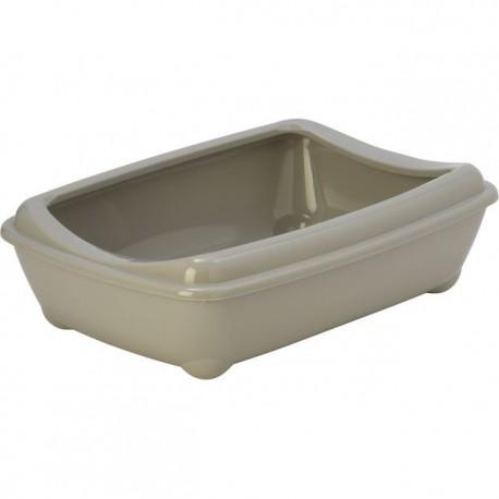 Moderna toiletbak met rand 42 cm grijs
