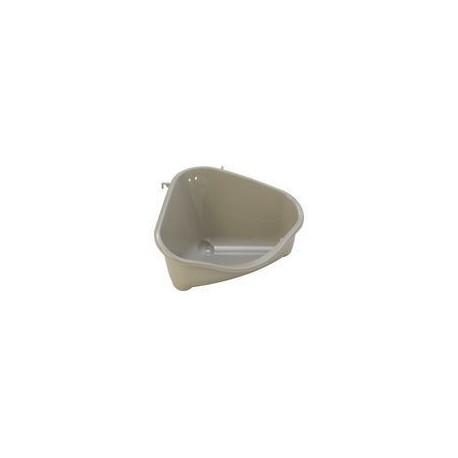 Moderna hoek toiletbak grijs