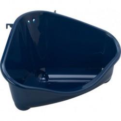Moderna hoek toiletbak 35 cm blauw