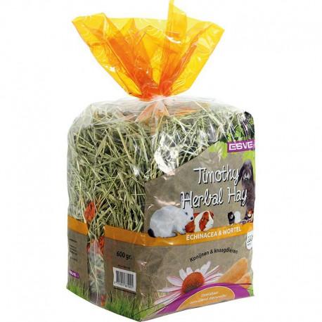 Esve Timothy hay echinacea & wortel - oranje