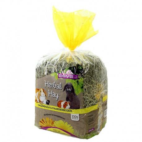 Esve Herbal Hay calendula & paardenbloem - geel