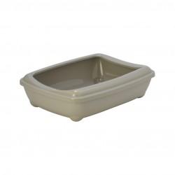 Moderna toiletbak met rand 50 cm grijs