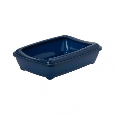 Moderna toiletbak met rand 50 cm blauw