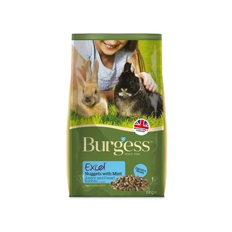 Burgess Excel Rabbit Junior 2kg