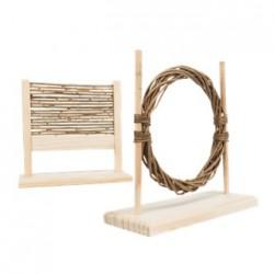 Trixie houten hindernis set