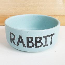 Voerbak rabbit mintblauw